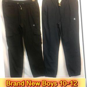 Other - Boys Comfy drawstring Pants 10-12